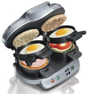 hamilton-beach-dual-breakfast-sandwich-maker