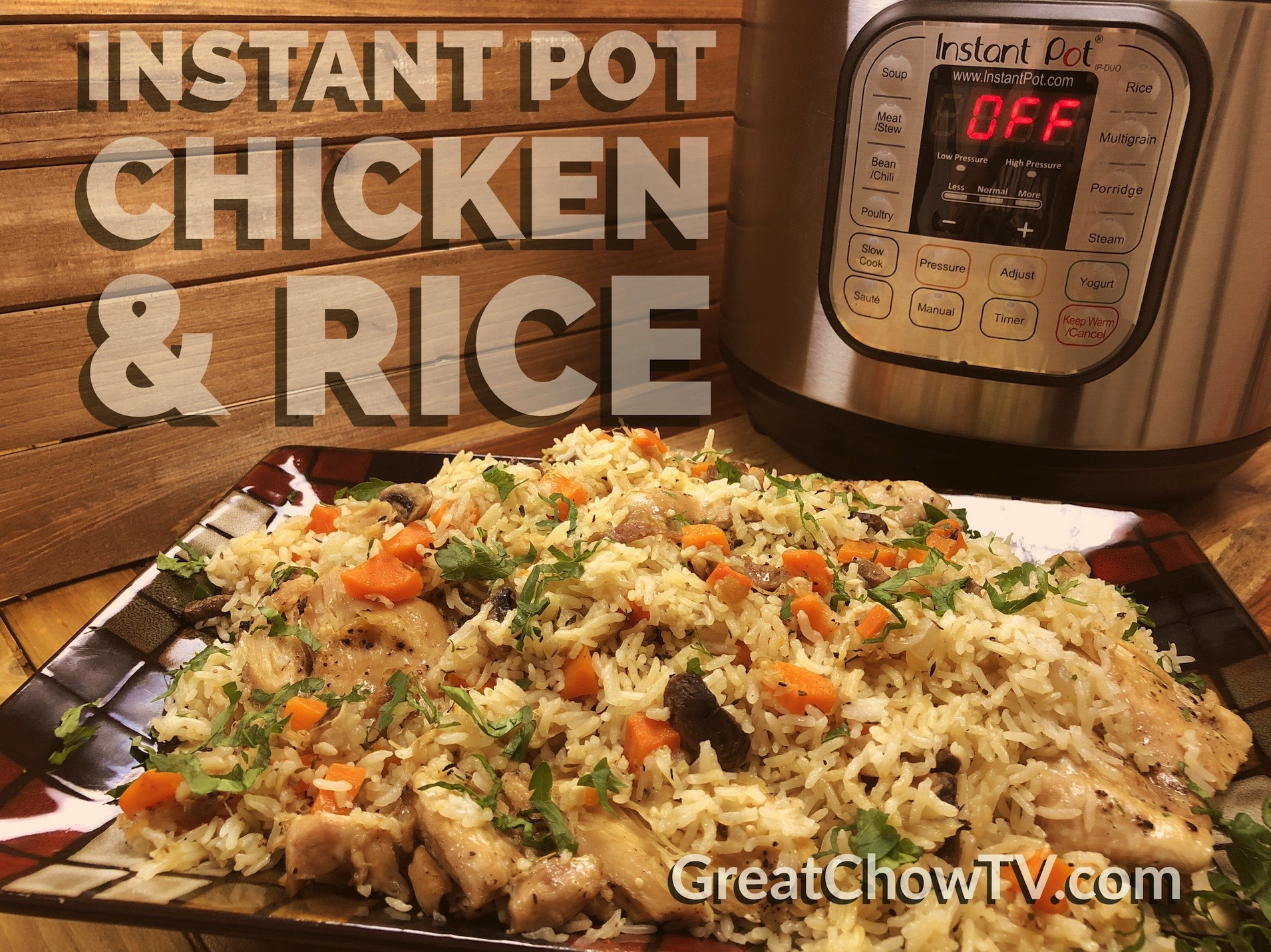 how to cook rice in instant pot youtube